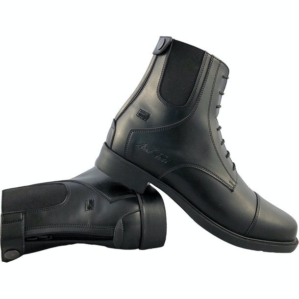 Mark Todd Synthetic Zip Back Jodhpur Boots