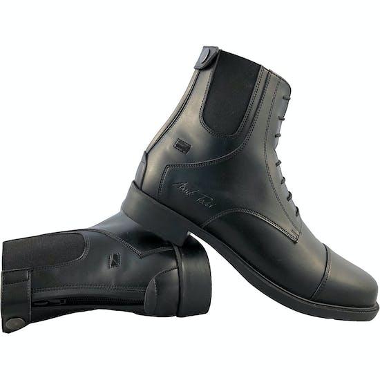Mark Todd Synthetic Zip Back Jodhpur Boots