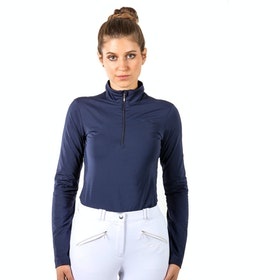 Mark Todd Liv Competition Ladies Base Layer Top - Navy