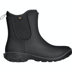 Bogs Sauvie Slip On Ladies Wellies - Black