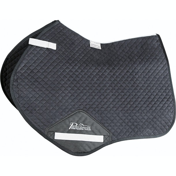 Shires Performance Suede Jumping Saddlecloth Saddlepads