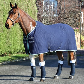 Shires Tempest Original Tech Cooler Rug - Navy Green Grey