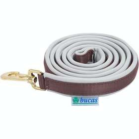 Bucas Dublin Leadropes - Chocolate Silver