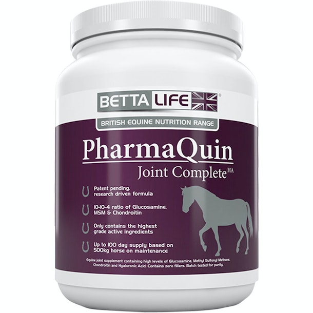 BettaLife Pharmaquin Equine Joint Complete HA 1kg Joint Supplement