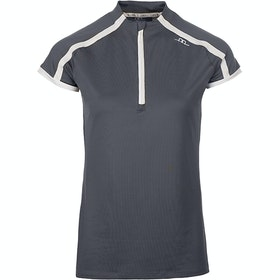 AA Platinum Pula Competition Technical Ladies Top - Dark Grey