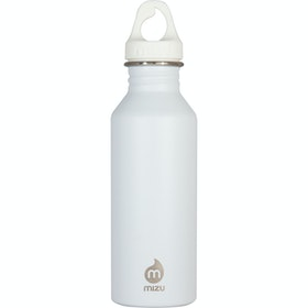 Mizu M5 w Loop Cap Water Bottle - Enduro White