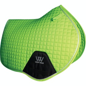 Woof Wear Close Contact Colour Fusion Saddlepads - Lime