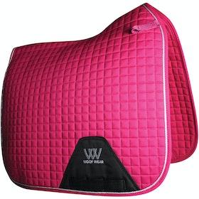 Woof Wear Dressage Colour Fusion Saddlepads - Berry