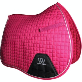 Woof Wear GP Colour Fusion Saddlepads - Berry