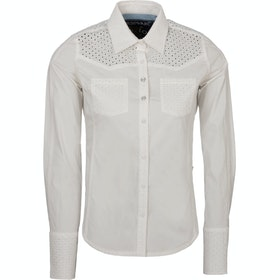 Horseware Polo Flori Cotton Competition Shirt - White