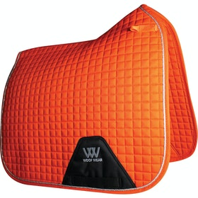 Woof Wear Dressage Colour Fusion Saddlepads - Orange