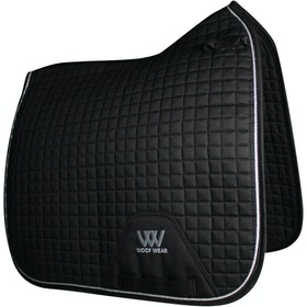 Woof Wear Dressage Saddlepads - Black