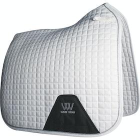 Woof Wear Dressage Saddlepads - White