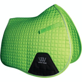 Woof Wear GP Colour Fusion Saddlepads - Lime