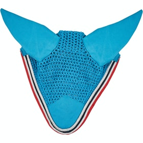 Saxon Coordinate Ear Cover Fly Veil - Blue Navy Berry