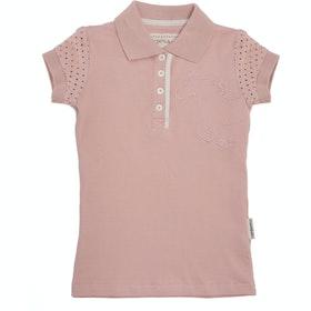 Horseware Pique Kids Polo Shirt - Pink Blossom