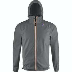 K-Way Le Vrai Claude 3.0 Waterproof Jacket - Grey Smoke