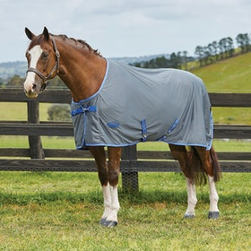 Weatherbeeta Ezi-Dri Standard Neck Cooler Rug - Grey Blue