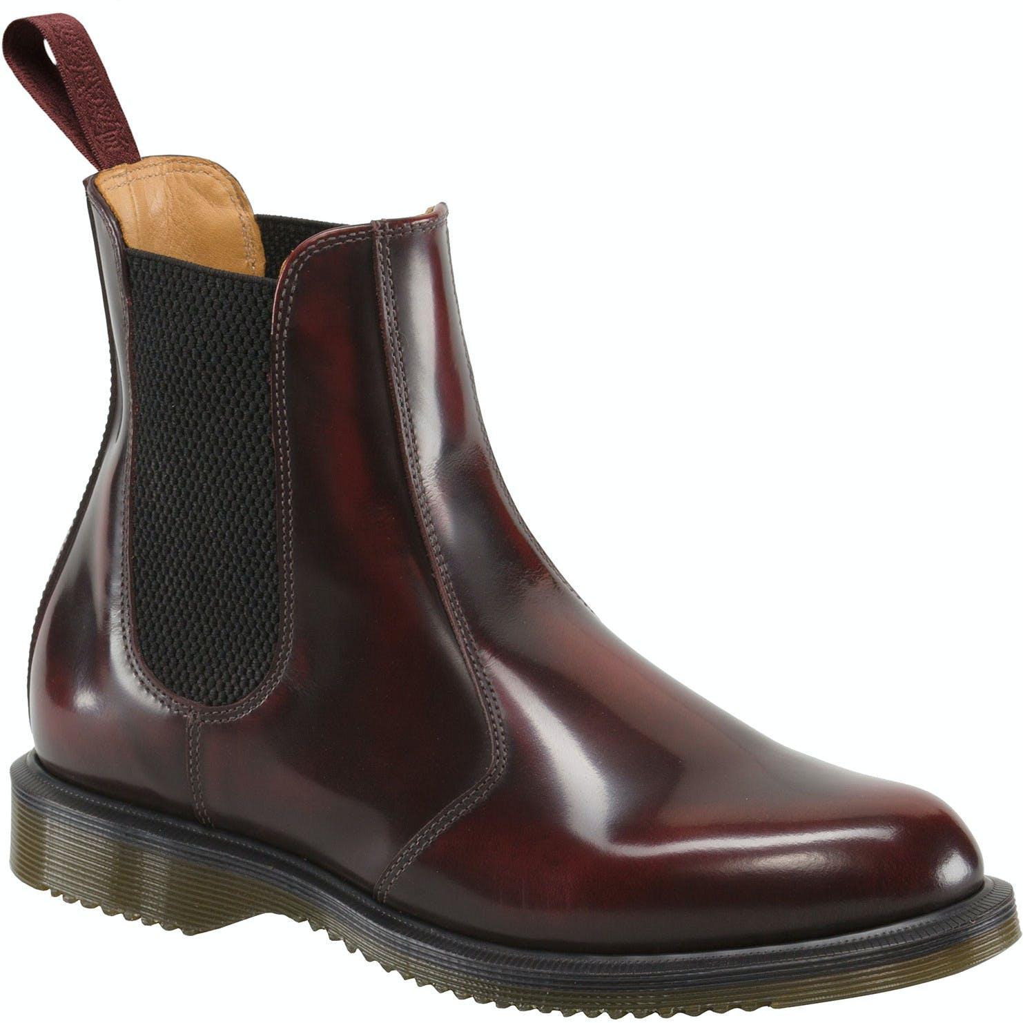 nieuwe collectie breed bereik online bestellen Dr Martens Flora Chelsea Ladies Boots available from Blackleaf