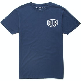 Deus Ex Machina Milano Address Kortærmede T-shirt - Navy