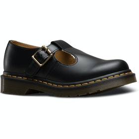 Dr Martens Polley Smooth Ladies Dress Shoes - Black
