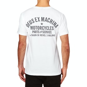 Deus Ex Machina Milano Address T Shirt - White