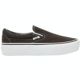 Обувь без шнурков Женщины Vans Classic Platform - Black