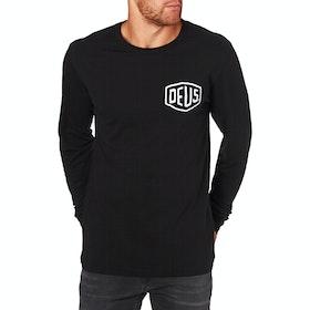T-Shirt a Manica Lunga Deus Ex Machina Venice - Black