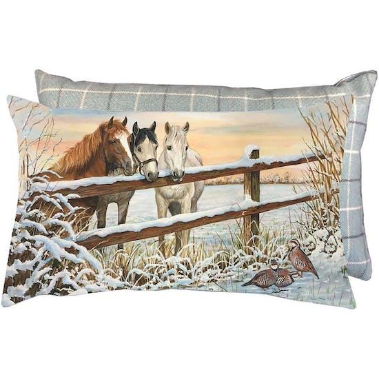 Grays We Three Kings Cushion