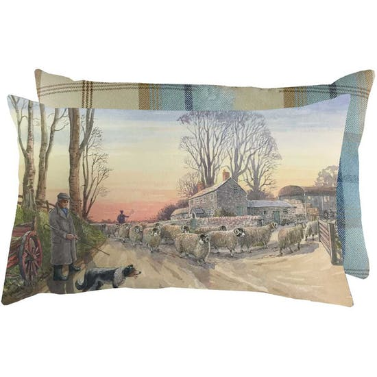 Grays Red Sky At Night Cushion