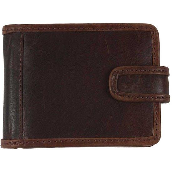 Grays Shenton Brown Leather Brieftasche