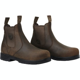 Mountain Horse Xtr Lite Protective Jodhpur Boots - Brown