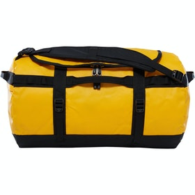 North Face Base Camp Small Duffle Bag - Summit Gold TNF Black