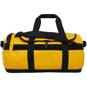North Face Base Camp Medium Duffle Bag - Summit Gold TNF Black