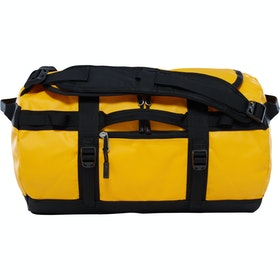 North Face Base Camp X Small Duffle Bag - Summit Gold TNF Black