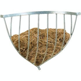 Stubbs Hay Rack Traditional Corner S11 Hay Rack - Silver