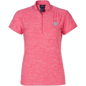Mountain Horse Sky Tech Ladies Short Sleeve T-Shirt - Flashy Pink