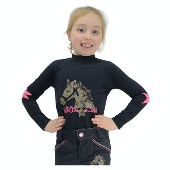 Little Rider Riding Star T-Shirt Lange Mouwen
