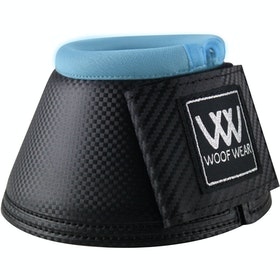Woof Wear Pro Colour Fusion Over Reach Boots - Black Powder Blue