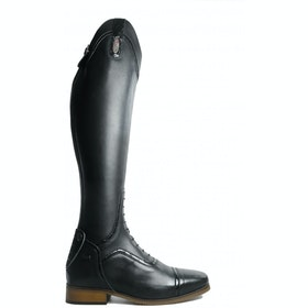 Long Riding Boots Brogini Sanremo Field Short - Black