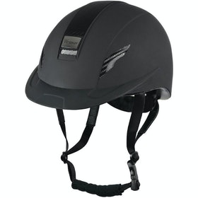 John Whitaker VX2 Sport Riding Hat - Black