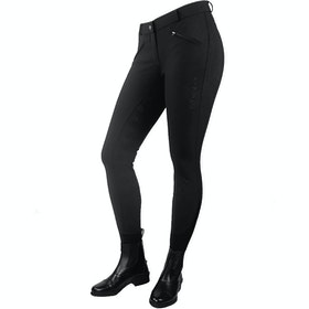 John Whitaker Miami Childrens Riding Breeches - Black