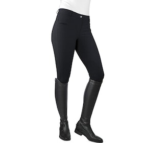 John Whitaker Horbury V2 Ladies Riding Breeches - Black