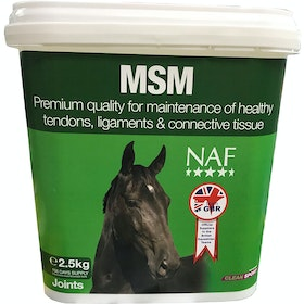 NAF MSM 2.5kg Joint Supplement - Clear