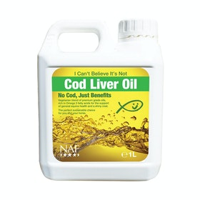 NAF I Can't Believe it's Not Cod Liver Oil 1L Joint Supplement - Clear