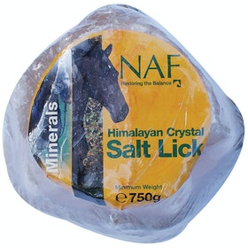 NAF Himalayan Rock Small Salt Lick - Clear