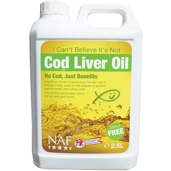NAF I Can't Believe it's Not Cod Liver Oil 2.5L Joint Supplement