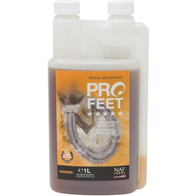 NAF 5 Star Pro Feet Liquid 1L Hoof Supplement - Clear