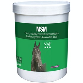 NAF MSM 1kg Joint Supplement - Clear