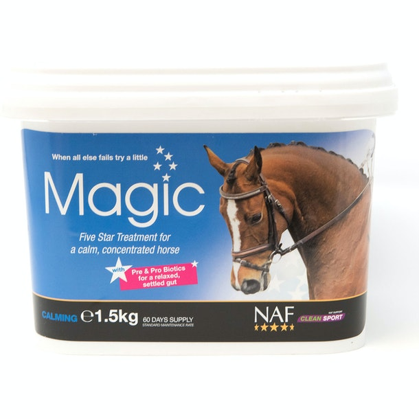 NAF 5 Star Magic Powder 1.5kg Calming Supplement